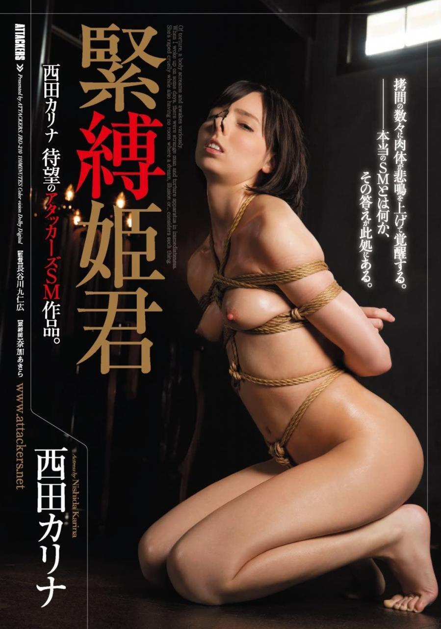 最美混血处女!被绑成癖的西田カリナ引退!